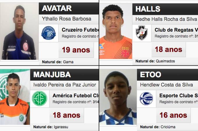 Montagem – Fichas Individuais Copa São Paulo