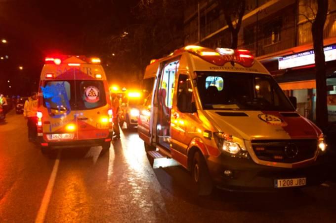 Teto de boate cai e deixa 26 feridos em Madri