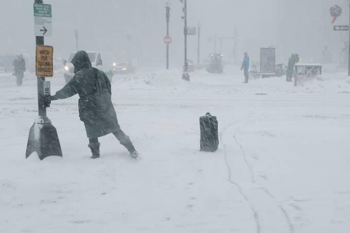 Tempestade de inverno nos Estados Unidos