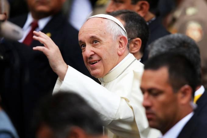 Papa Francisco visita o Peru