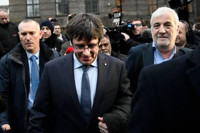 Carles Puigdemont em Copenhague