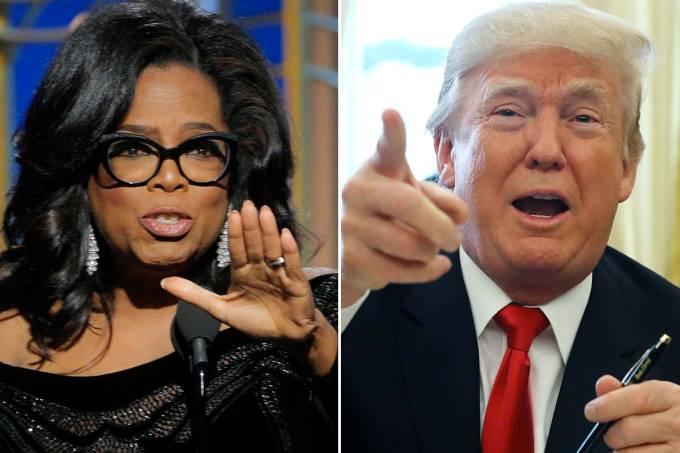Oprah Winfrey e Donald Trump