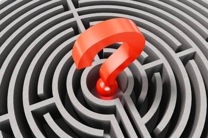 Centro, interrogação, centro político, dúvida, questionamento