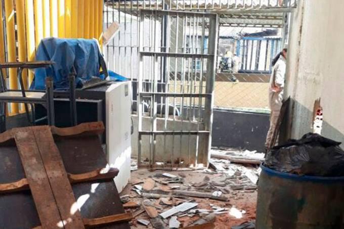 Rebelião no Complexo Prisional de Aparecida de Goiânia