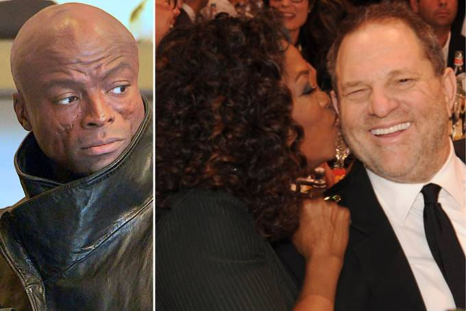 Seal, Oprah Winfrey e Harvey Weinstein