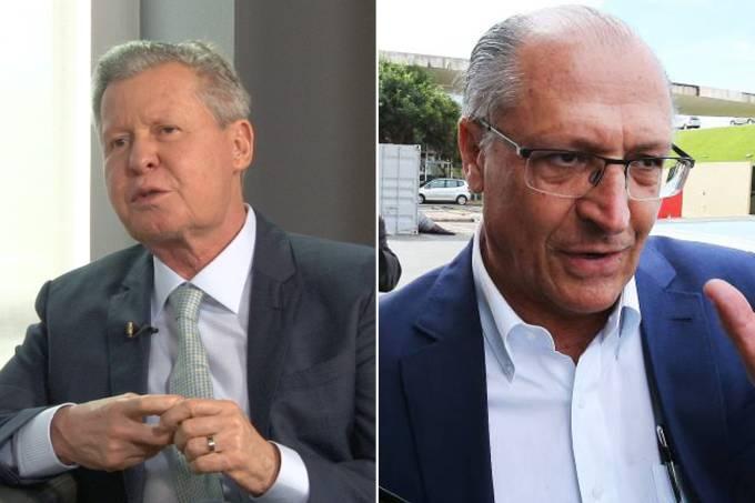 Arthur Virgílio e Geraldo Alckmin (montagem)