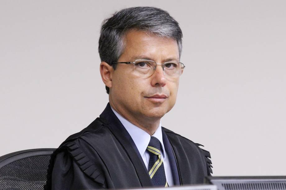 Desembargador Victor Luiz dos Santos Laus, durante julgamento do ex-presidente Lula no TRF4 - 24/01/2018