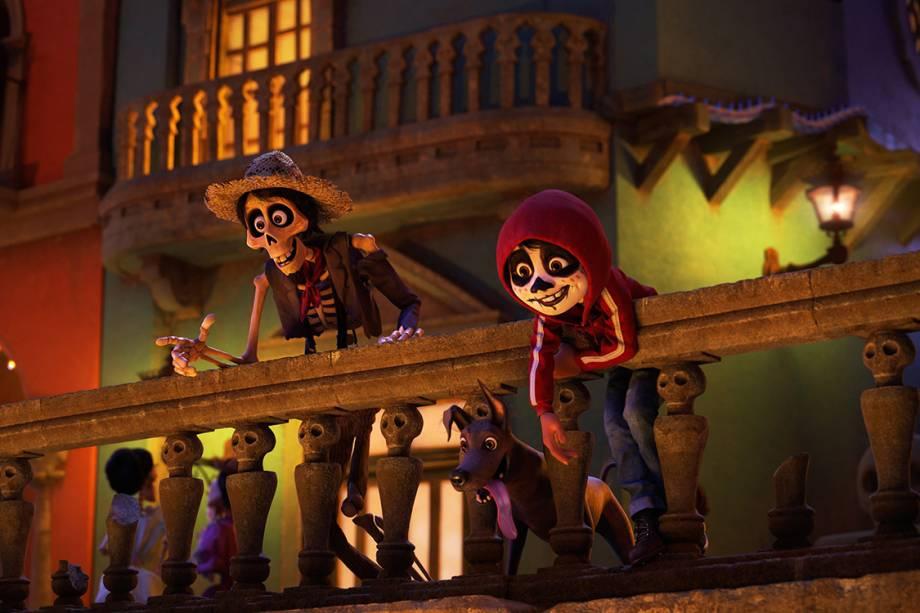 Miguel e Héctor em 'Viva - A Vida É uma Festa'