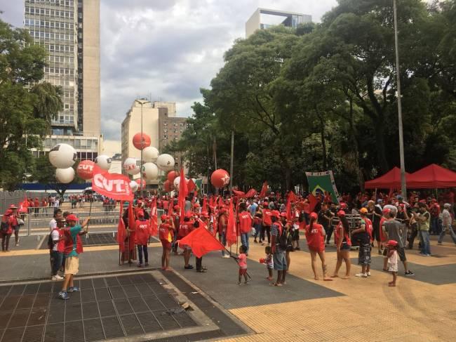 Praça da República Lula PT
