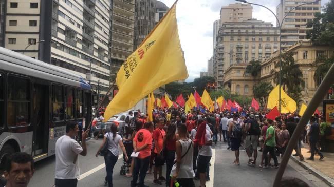Manifestação República PT