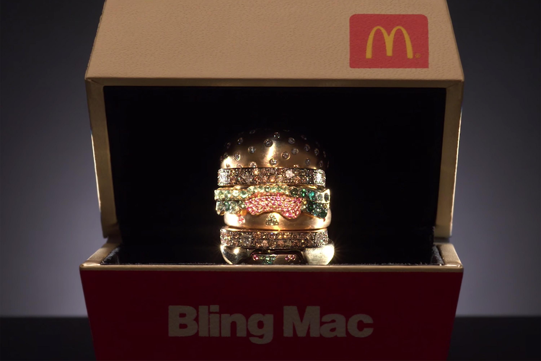 Anel Big Mac