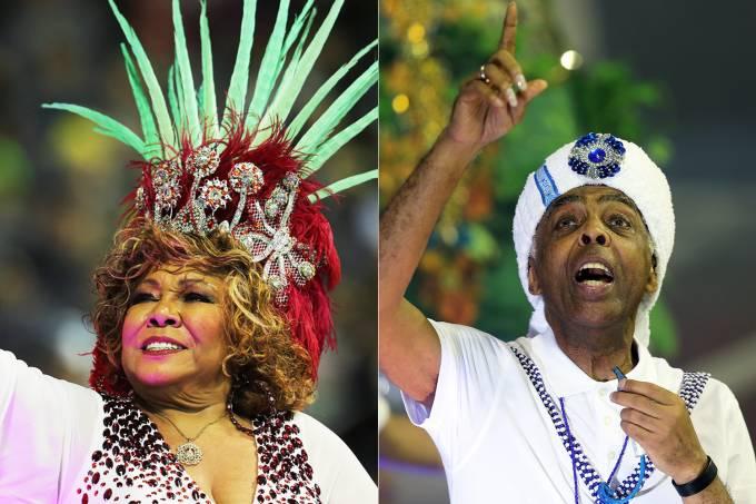 Carnaval SP – Alcione e Gilberto Gil