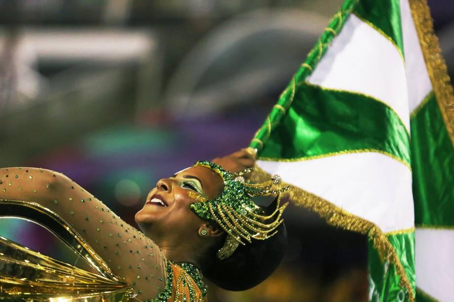 Com o enredo ´O império do samba na rota da China´, a escola de samba Império Serrano realiza desfile no Sambódromo da Marquês de Sapucaí - 11/02/2018