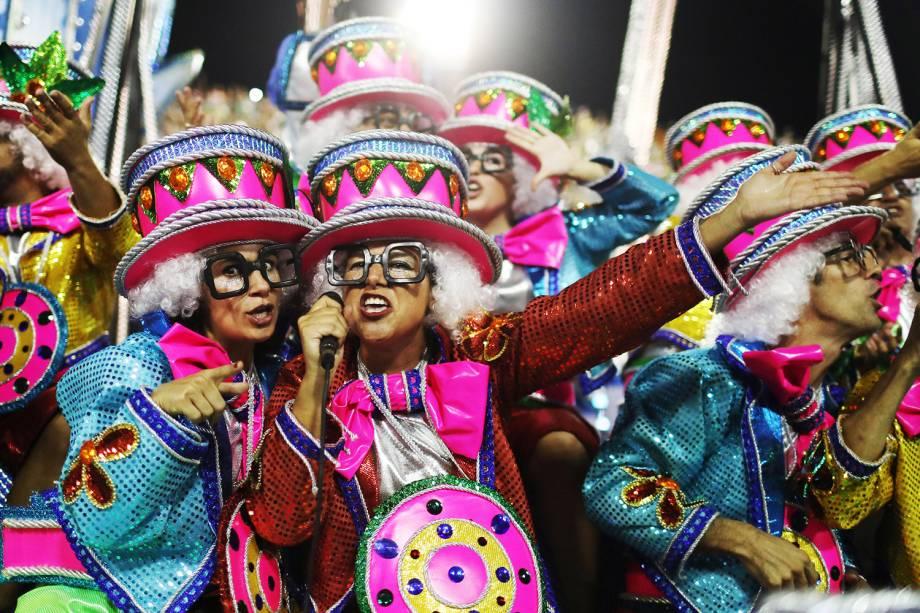 Desfile da escola de samba Unidos de Vila Isabel, no Sambódromo da Marquês de Sapucaí- 12/02/2018