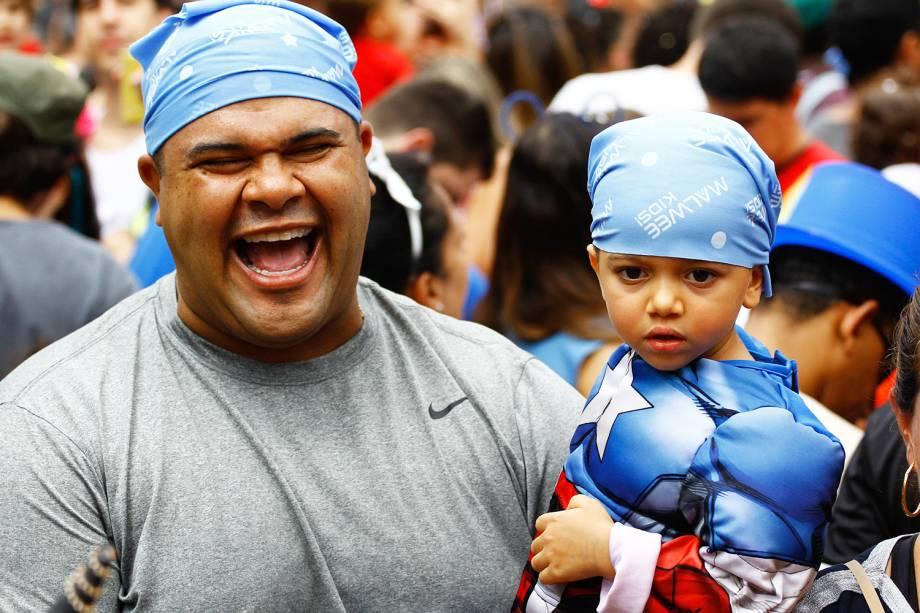 Bloco 'Mamãe Eu Quero', leva público infantil para as ruas de Perdizes, zona oeste da capital paulista - 03/02/2018