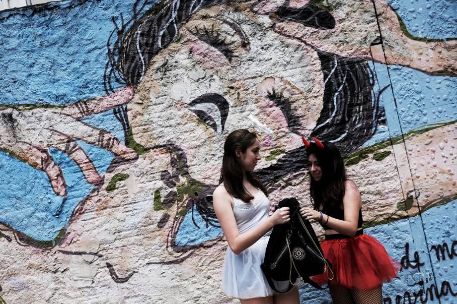 Bloco Casa Comigo agita foliões durante o pré-Carnaval em São Paulo (SP) - 03/02/2018