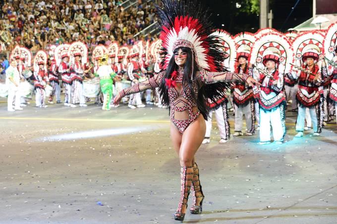 Carnaval SP – Mancha Verde – Viviane Araújo