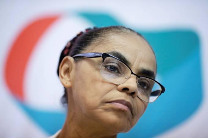 A pré-candidata à Presidência da República, Marina Silva