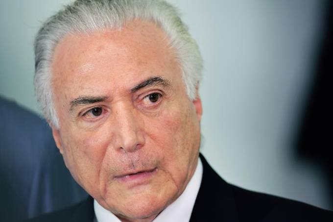 Temer realiza reunião no Palácio Guanabara, no Rio