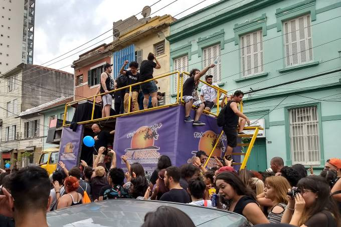 Carnaval SP – Bloco Emo