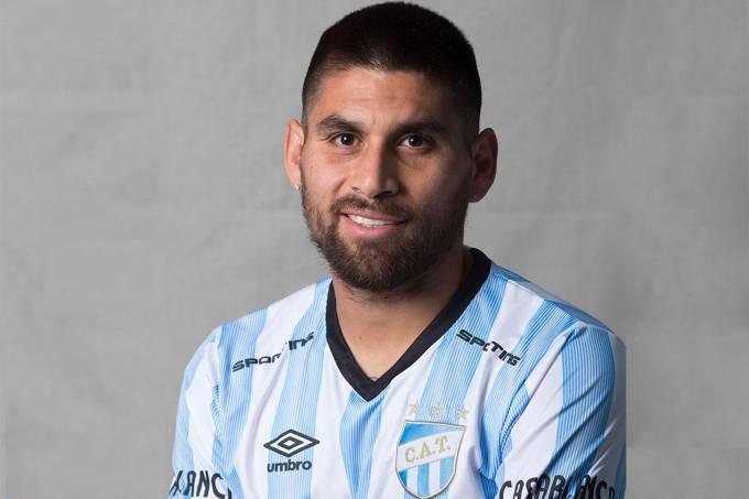 Cristian Villagra do Atlético Tucumán