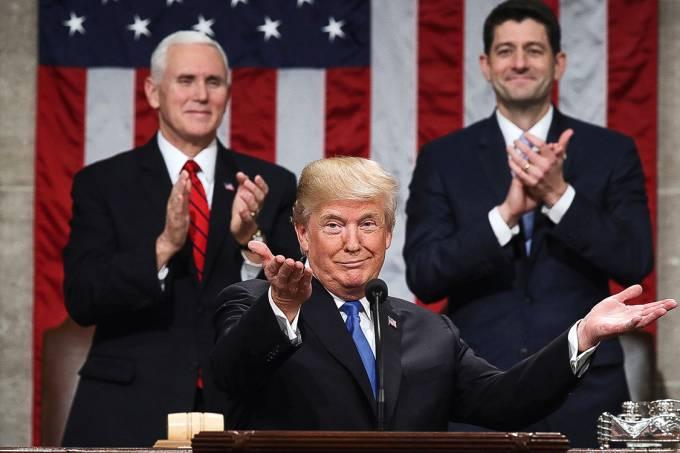 Como sempre – Trump colhe os aplausos republicanos no discurso