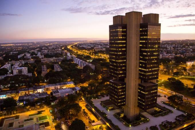 Edifício Sede do Banco Central em Brasília