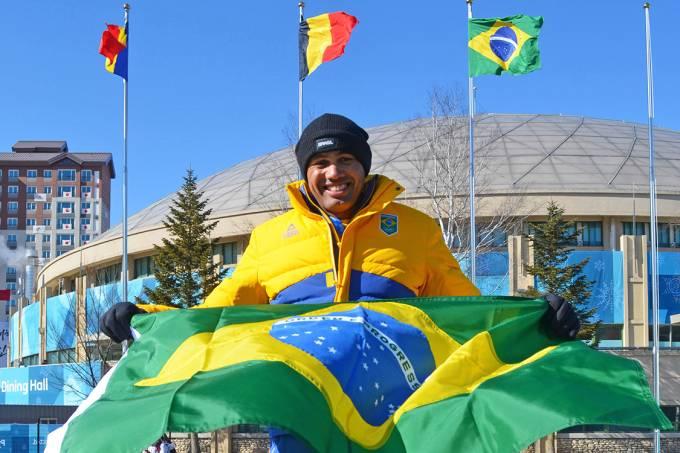 O atleta Edson Bindilatti, do bobsled, é escolhido para ser o porta-bandeira do Brasil na Olimpíada de Inverno de Pyeongchang