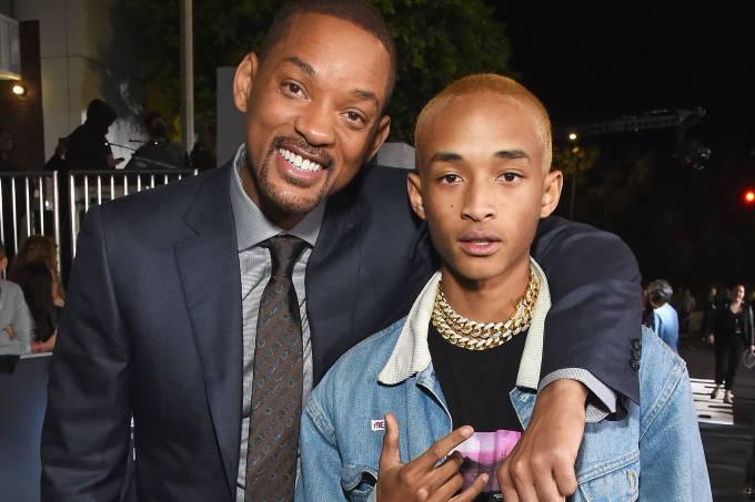 Will Smith e seu filho Jaden Smith