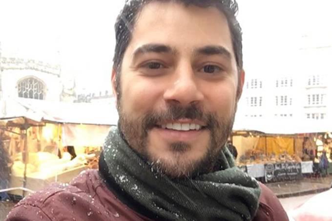 O jornalista Evaristo Costa