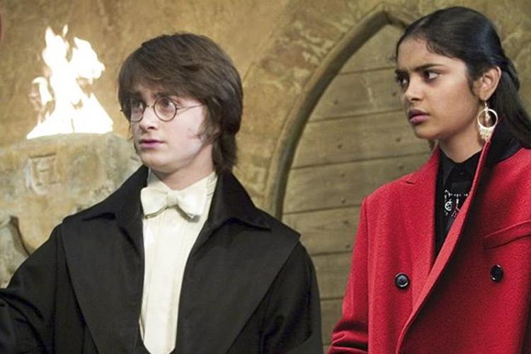 Cena da franquia 'Harry Potter'