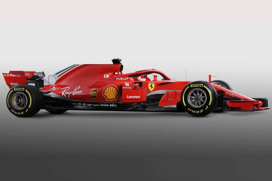 Ferrari divulga imagens do SF71H, novo carro para a temporada 2018 da Fórmula 1 - 22/02/2018