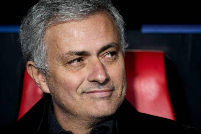 O técnico do Manchester United, José Mourinho
