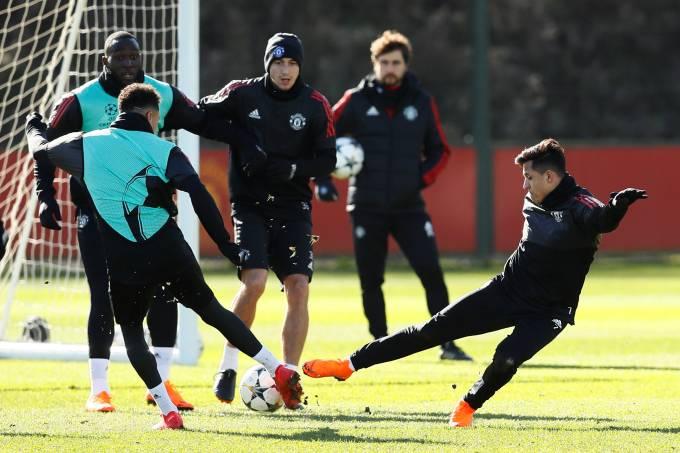 Treino Manchester United