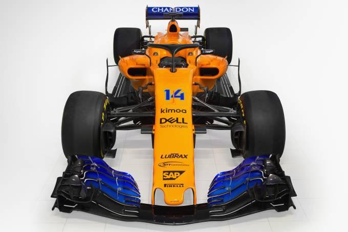 McLaren divulga carro para temporada 2018 da F1