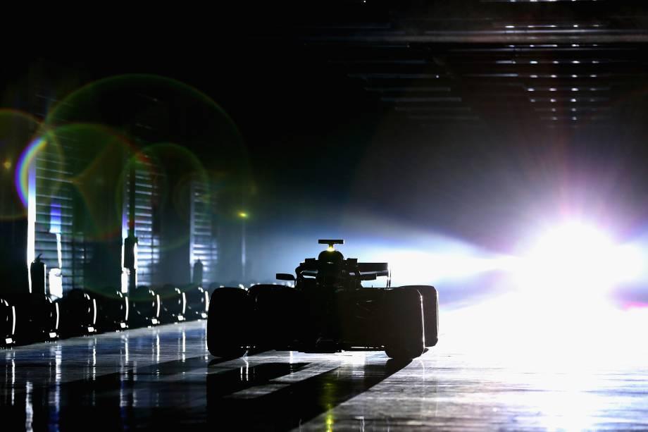 Mercedes lança carro para temporada 2018 da F1, o W09, que foi apresentado e testado pelos pilotos Valtteri Bottas e Lewis Hamilton no Circuito de Silverstone, na cidade de Northampton, Inglaterra - 22/02/2018