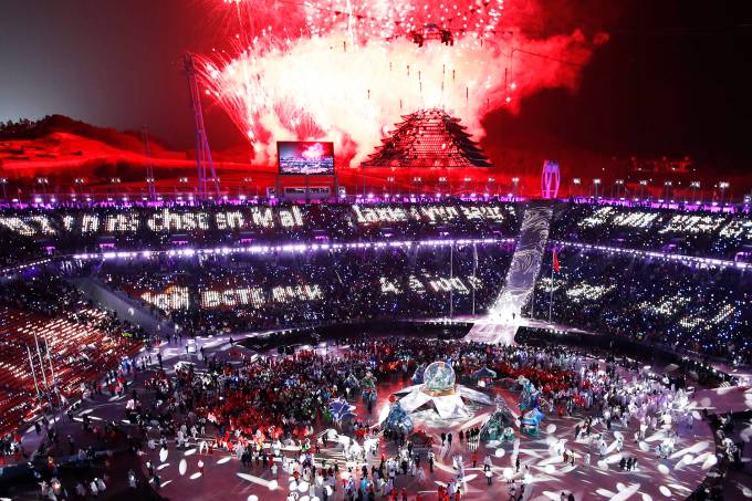 Cerimônia de encerramento – Pyeongchang 2018