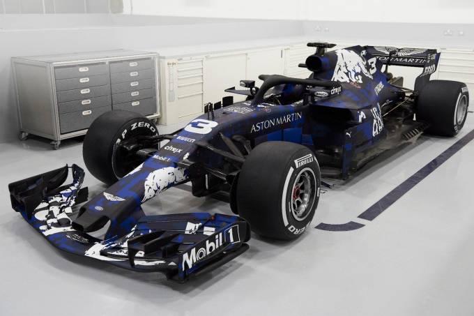 Novo carro da RBR é apresentado