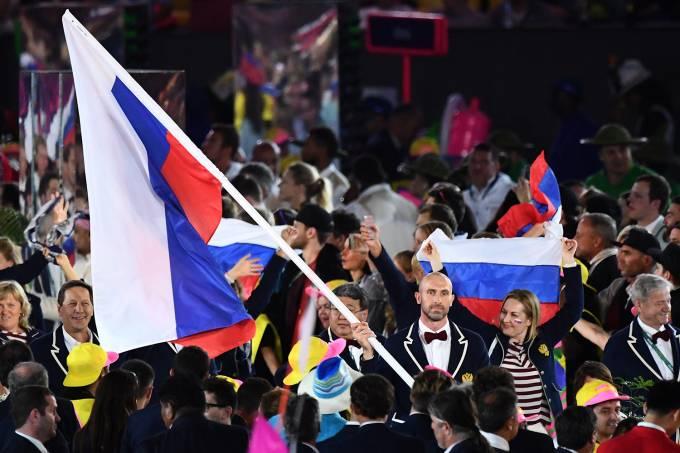 Cerimônia de abertura Rio-2016 – Rússia