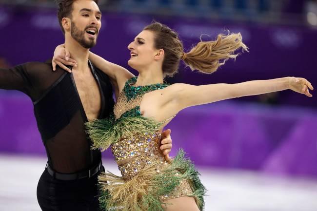 Guillaume Cizeron e Gabriella Papadakis