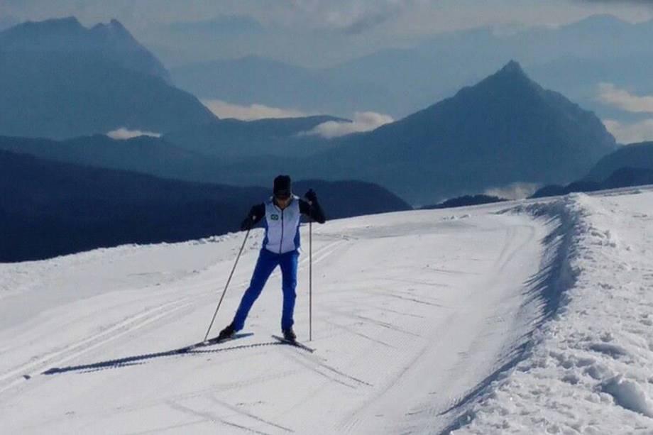 Jaqueline Mourão atleta do Brasil no Esqui Cross Country para as Olímpiadas de Pyeongchang