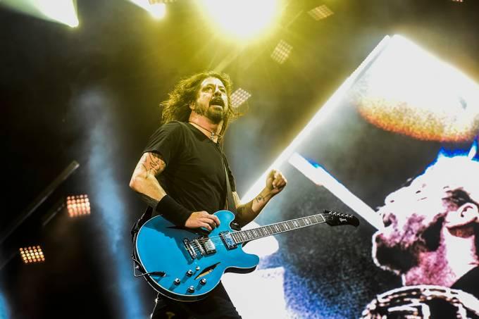 Show da banda Foo Fighters, em São Paulo