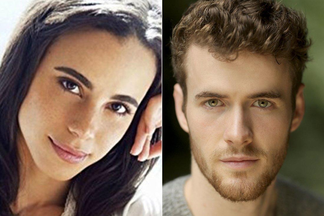 Parisa Fitz-Henley e Murray Fraser interpretarão Meghan Markle e príncipe Harry
