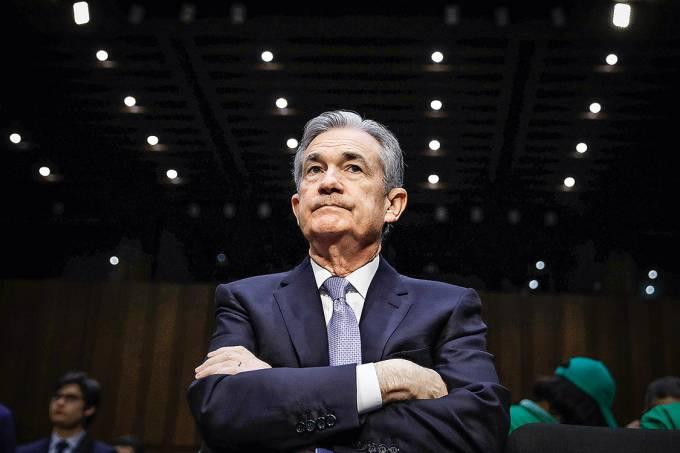 Estreia de fogo – Powell, que acaba de assumir como novo presidente do Fed