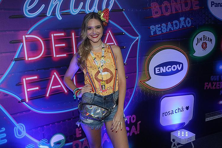 Juliana Paiva chega ao Nosso Camarote no Sambódromo do Rio de Janeiro - 12/02/2018