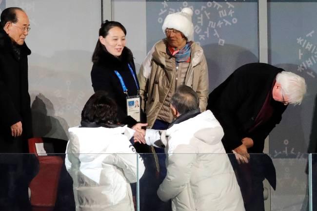 Abertura dos Jogos Olímpicos de Inverno em Pyeongchang