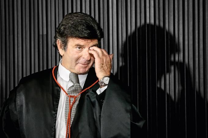 """Barrados – O ministro Luiz Fux, o novo presidente do TSE: """"Ficha-suja está fora do jogo democrático"""""""
