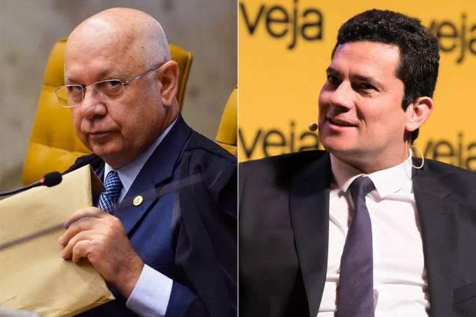 Teori Zavascki e Sergio Moro