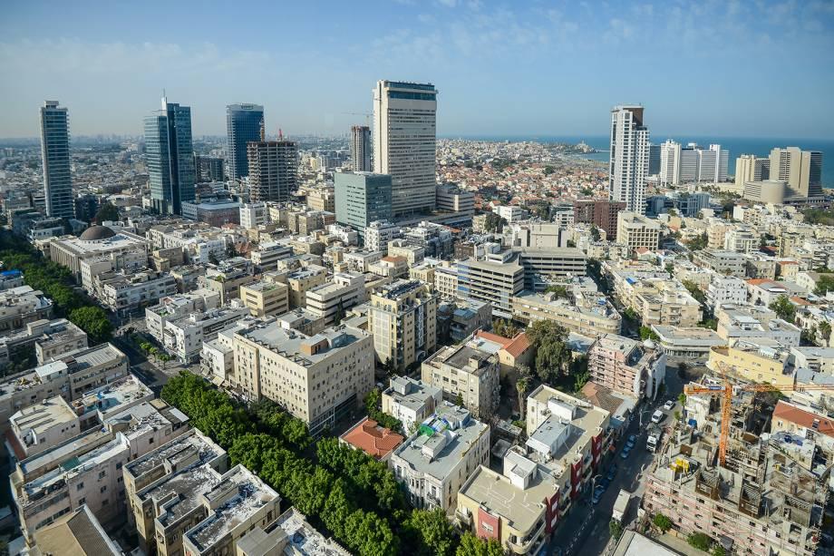 Vista da cidade de Tel Aviv, em Israel