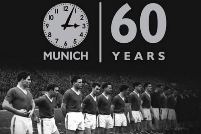 Manchester Unite recorda desastre de Munique